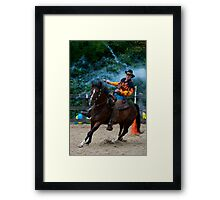 """""""Northern Ohio Outlaws"""" #25 Framed Print"""