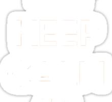Keep calm and pick Charmander (version 2)  Sticker