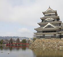 Matsumoto Castle - 松本城 by jeffreynelsd