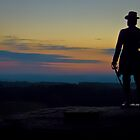 Sunset on Little Round Top by Mike Griffiths