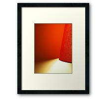 Weave Framed Print