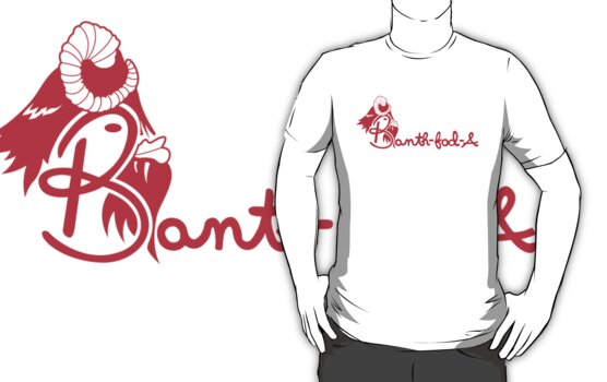 Banth fod A (for dark colored shirts) by Twiggboy