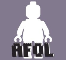 White Minifig with AFOL by Customize My Minifig  by ChilleeW