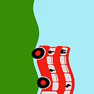 Double decker bus by funkyworm
