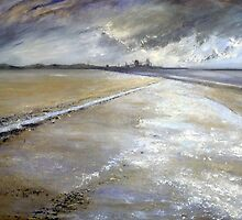 Redcar Beach by Sue Nichol
