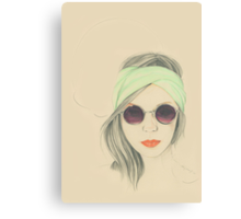 Miss. Minty Fresh Canvas Print