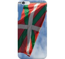 Basque flag iPhone Case/Skin