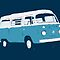 Bay Window Campervan Basic Colours by Ra12