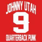 POINT BREAK JOHNNY UTAH NUMBER 9 QUATERBACK PUNK by DanFooFighter