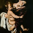 "Caravaggio's ""Madonna of the Pilgrims"" by Heidi Erisman"