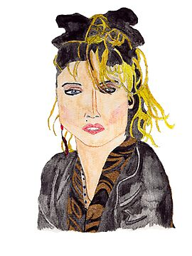 Madonna [iPhone / iPod case / Sticker / Print] by swelldame