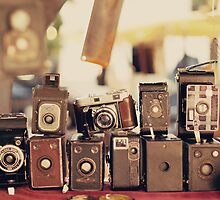 Old Cameras (Vintage and Retro Film Cameras Collection) by Andreka