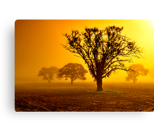 """""""In The Mists Of Dawn"""" Canvas Print"""