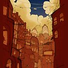 red city by amika