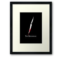 The Kingsroad Framed Print