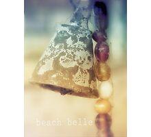 beach belle Photographic Print