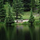Lake Irene Dressed in Green by Robert Meyers-Lussier
