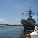 USS Truxtun (DDG 103) by jeffreynelsd