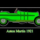 Aston Martin 5 GP 1921 by Dennis Melling
