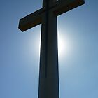 Anzac memorial Cross at Mt Macedon, Victoria, Australia by SpikeyRose