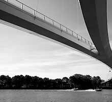 Under the Nescio Bridge by M. van Oostrum