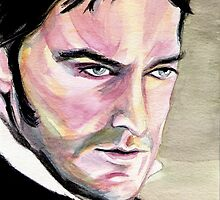 Richard Armitage, Thornton, watercolor by jos2507