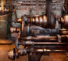 Machinist - Steampunk - 5 Speed Semi Automatic by Mike  Savad