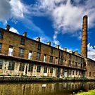 Slater Terrace, Weavers' Triangle Burnley by inkedsandra