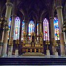 St Maurice Church Lille  by Lilian Marshall