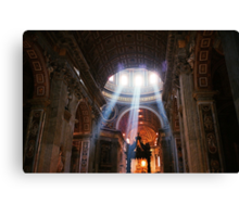 St. Peter's Basilica, Rome Canvas Print