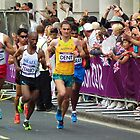 Olympic Marathon London 2012 by mike  jordan.