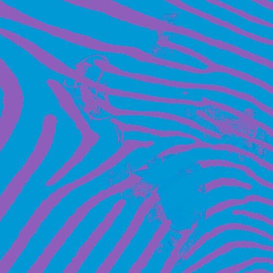 Blue Zebra by PrinceRobbie