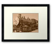 Old Fashioned Train Framed Print