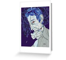 Serge Gainsbourg Greeting Card