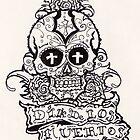 dia de los muertos( day of the dead) by mojittto