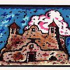santa fe mission church by mojittto