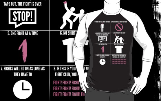 The Rules Of Fight Club by Adam Grey