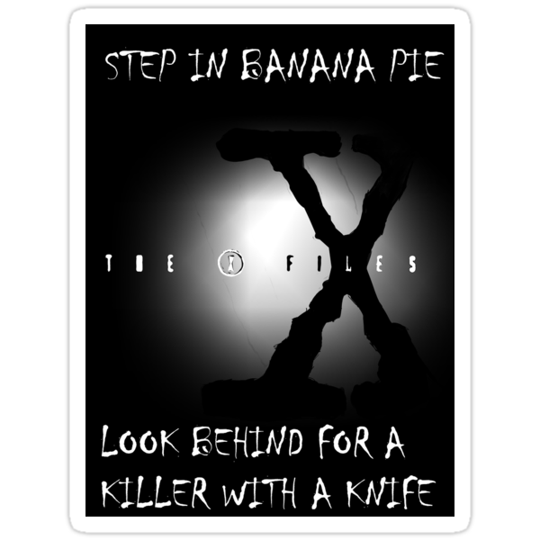 the x-files - banana pie by raistss