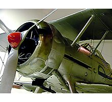 Gloster  Gladiator...........! Photographic Print