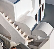 Oia Steps by phil decocco
