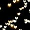Glowing Hearts Pattern  by sweetcherries