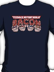 Teenage Mutant Ninja Bacon  T-Shirt