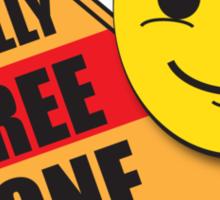 Back to School: Bully Free Zone Sticker