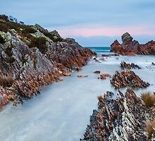 Rocky Cape Sunset Panorama by Martin Canning