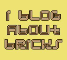 I BLOG ABOUT BRICKS by Customize My Minifig by ChilleeW