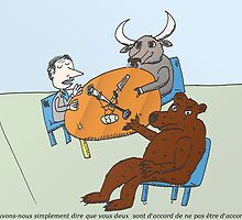 l'Ours et le Taureau a la Radio by Binary-Options