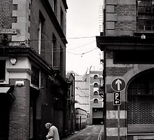 Journey for the morning paper - Dublin by Norman Repacholi