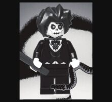 Evil Magician Custom LEGO® Minifigure with Magic Wand & Snake, by 'Customize My Minifig' by Chillee