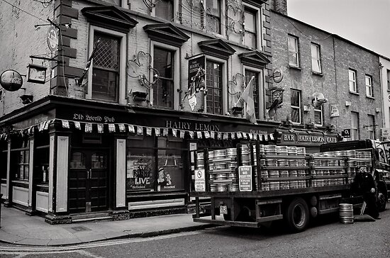 Precious cargo for a pub - Dublin by Norman Repacholi