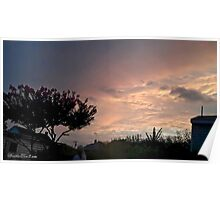 July 2012 Sunset 24 Poster